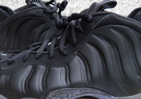"Nike Air Foamposite One ""Stealth"" – Release Date Change"