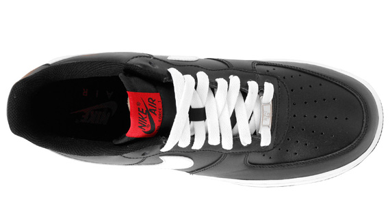 outlet Nike Air Force 1 Low Black White Red - molndalsrev.se 1d726983b8