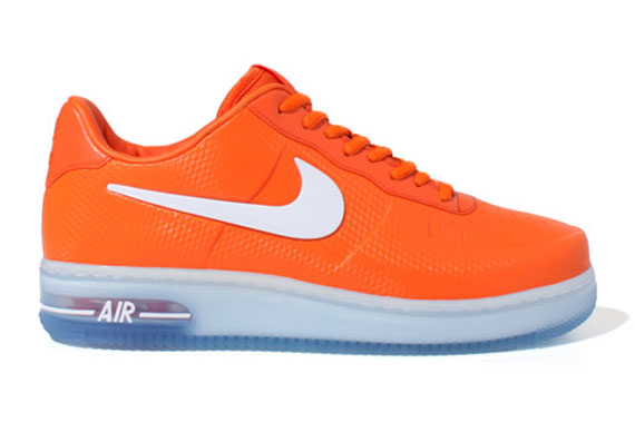 orange nike air force 1