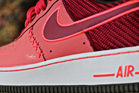 Nike Air Force Kurz Peach