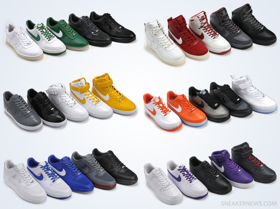 nike air force collection