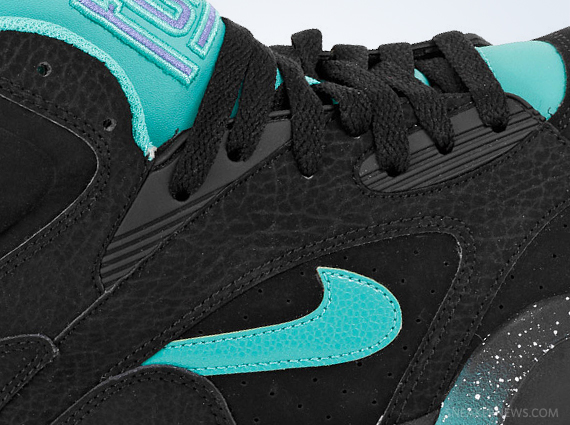 nike air force 180 black atomic teal