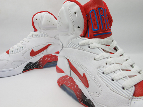 Nike Air Force 180 Mediados Blanco Hiper Rojo 5xzxFkwu