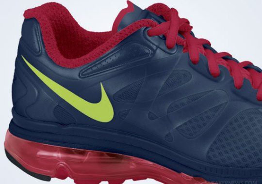 Nike Air Max+ 2012 – Midnight Navy – Gym Red