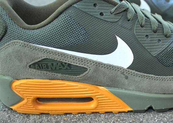 new style 105e0 dee01 Nike Air Max 90 Premium – Cargo Khaki – Canyon Gold ...