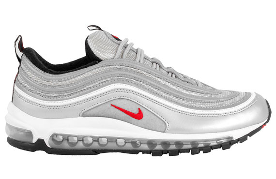 Air Max 97 Silver Red
