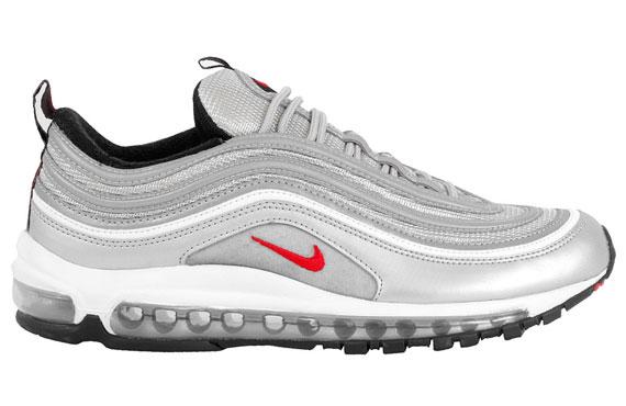 2013 Nike Air Max Silver