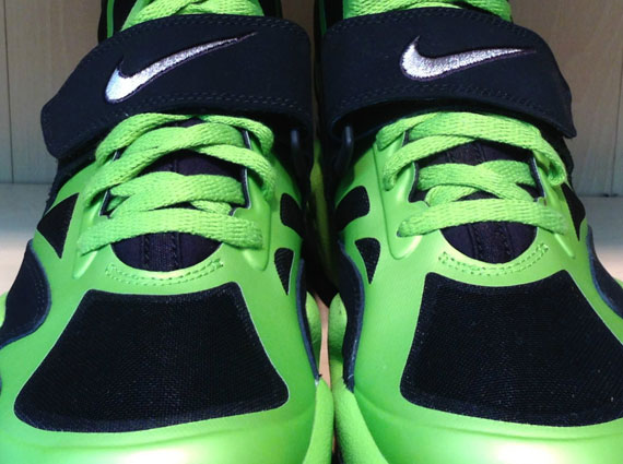 another chance 6af11 d3430 Nike Air Max Express – Black – Metallic Silver – Brilliant Green