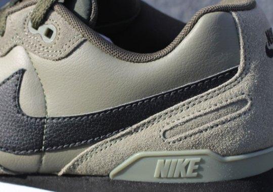 "Nike Air Waffle Trainer Leather ""Khaki"""