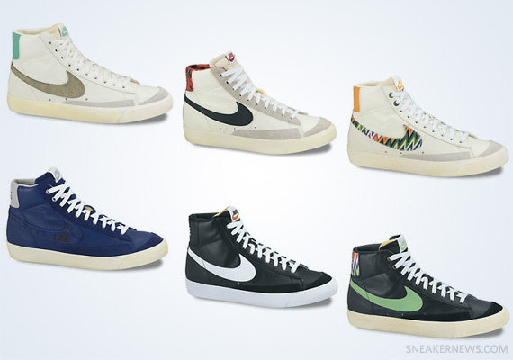 nike sportswear blazer 77 zig-zag table runner