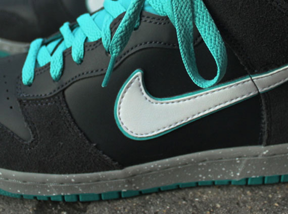 Nike Dunk High - Anthracite - White - Sport Turquoise - SneakerNews.com 12b751437