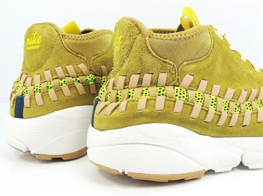 Nike Footscape Woven Chukka – Yellow Suede – Gum