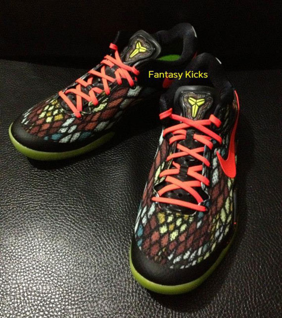 Womens Nike Zoom Kobe 8 Christmas