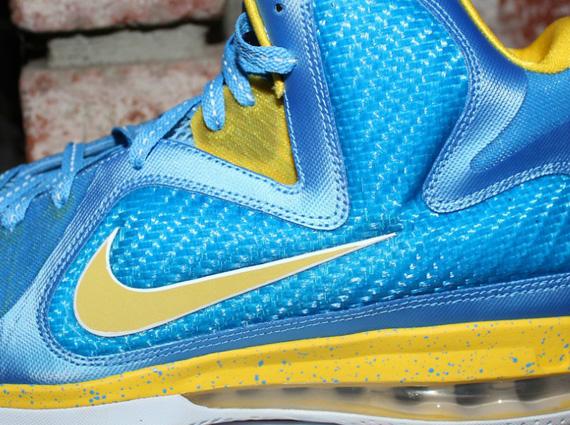 release date c46ed 3cc48 Nike LeBron 9 – Swin Cash PE