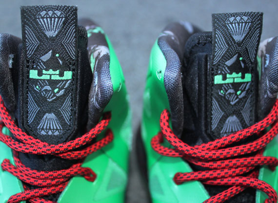 "lowest price c5ff3 8aedd Nike LeBron X ""Cutting Jade"" – Nationwide Release Date"