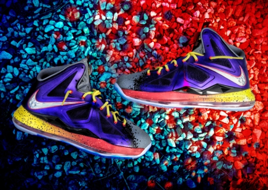 "Nike LeBron X ""Evolution of Nerf"" Customs by Mache"
