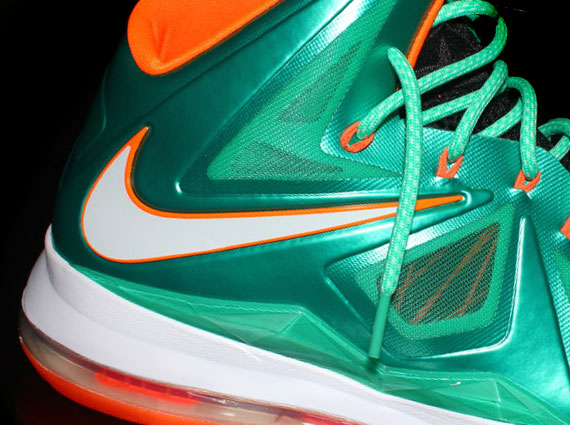 """half off a14ee 2c56c Nike LeBron X iD """"Miami Dolphins"""" by NYStatenIsland"""