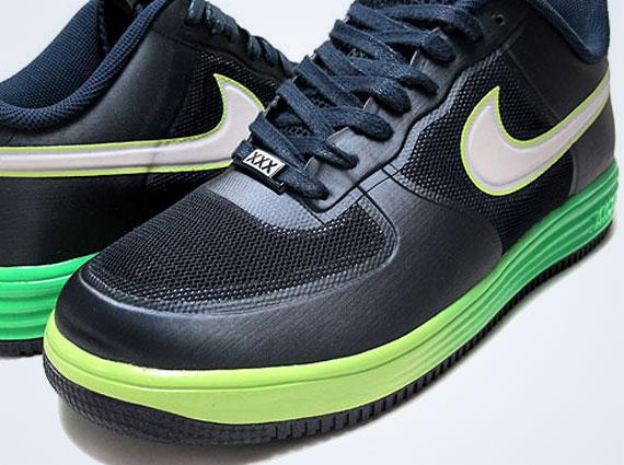 online store ab242 8c0e2 Nike Lunar Force 1 Fuse – Dark Obsidian – Volt – Neon Gradient