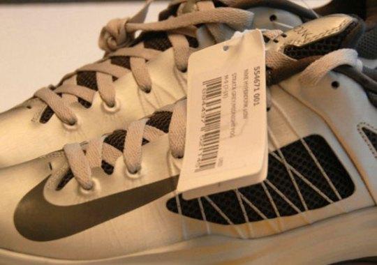 Nike Lunar Hyperdunk Low – Silver – Black