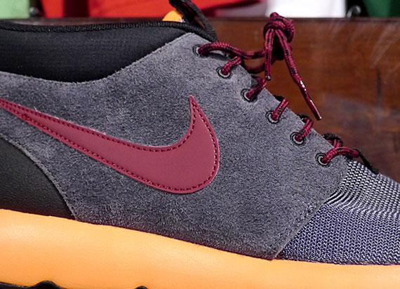 nike shox jeunesse en vente - Nike Roshe Run Trail - Dark Grey - Total Orange - Team Red ...