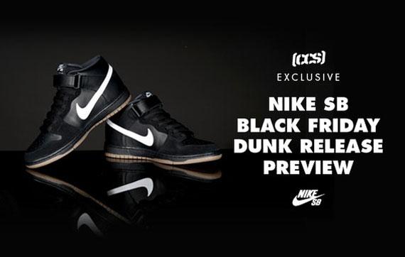 nike dunks black friday
