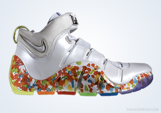 """Classics Revisited: Nike Zoom LeBron IV """"Fruity Pebbles"""" (2006)"""