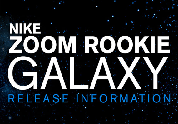 "Nike Zoom Rookie ""Galaxy"" – House of Hoops Release Info"