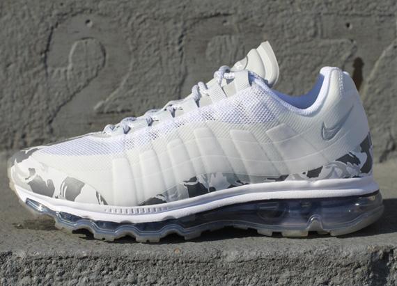 size 40 77c4f c990e Nike Air Max 95+ BB - White - Pure Platinum - Camo - SneakerNews.com