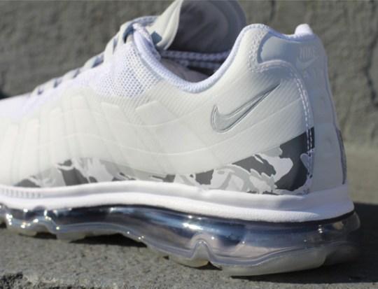 Nike Air Max 95+ BB – White – Pure Platinum – Camo