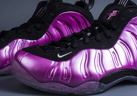 "Nike Air Foamposite One ""Polarized Pink"" – Arriving at Retailers"