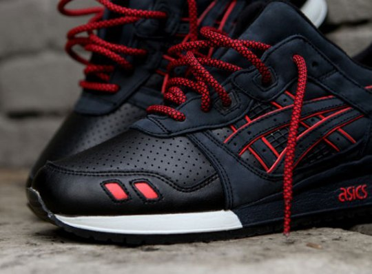 "Ronnie Fieg x Asics Gel Lyte III ""Total Eclipse/Leather Toes"""