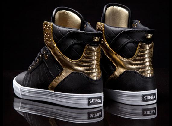 402f34aa249f Supra Skytop - Black - Gold - SneakerNews.com