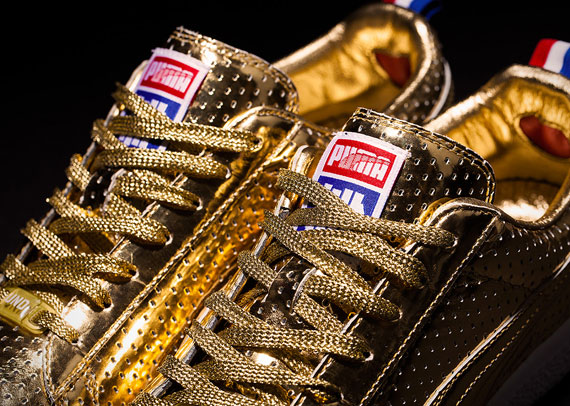 Puma X Undefeated 24k Gold