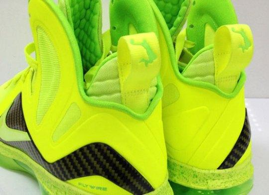 """Volt Dunkman"" Nike LeBron 9 Elite"