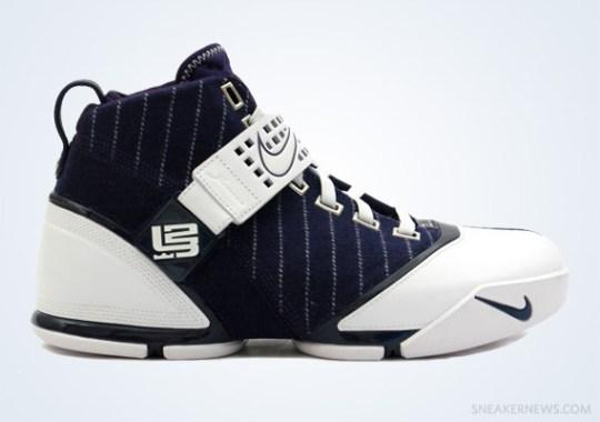 "Classics Revisited: Nike Zoom LeBron V ""Yankees"" (2008)"