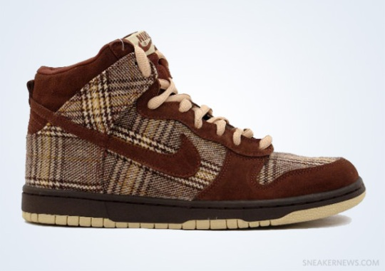 "Classics Revisited: Nike SB Dunk High ""Tweed"" (2004)"