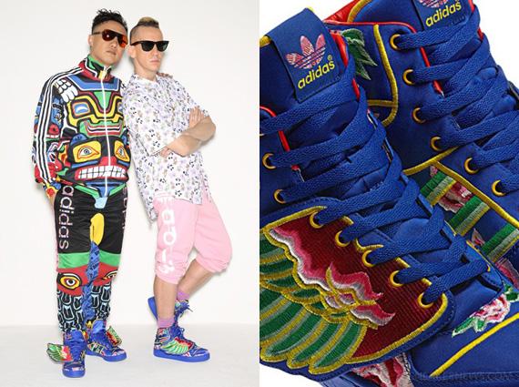 eason chan x adidas originali da jeremy scott