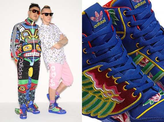 wholesale dealer 6ab58 4f58c Eason Chan x adidas Originals by Jeremy Scott