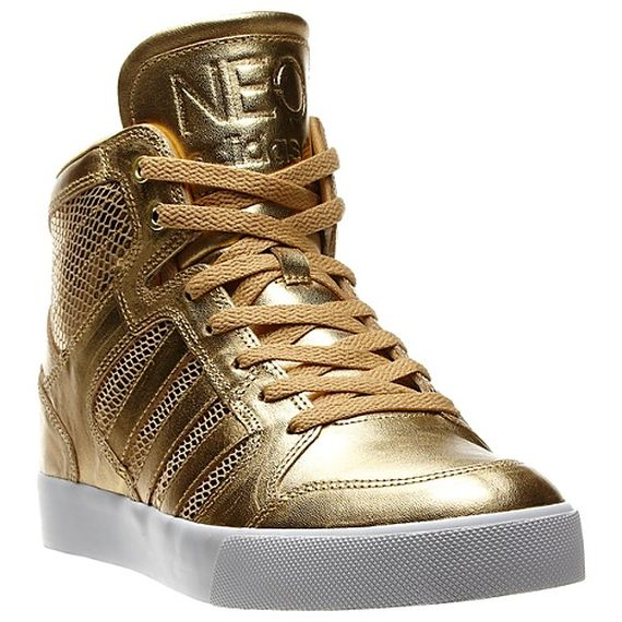 c3e050af889784 adidas NEO Gold Sneakers - SneakerNews.com