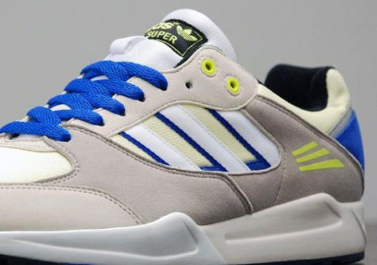 adidas Originals Tech Super – Haze Yellow – Collegiate Silver