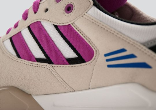 adidas Originals Tech Super – Running White – Vivid Pink