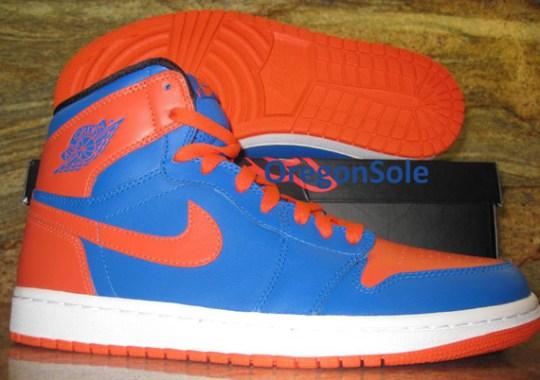 "Air Jordan 1 ""Carmelo Anthony"" – Sample on eBay"