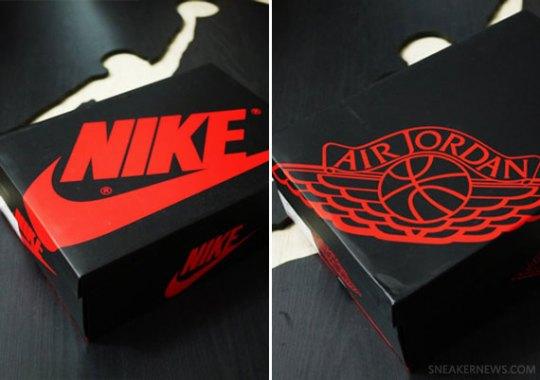 Air Jordan 1 Retro High – 2013 Packaging Comparison