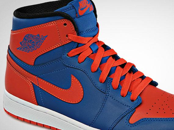"""wholesale dealer b2df2 e659d Air Jordan 1 High """"Knicks"""" – Release Date"""