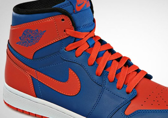 "Air Jordan 1 High ""Knicks"" – Release Date"