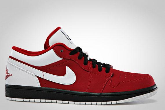 Air Jordan 1 Low Gym Red Sneakernews Com