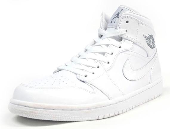 jordan 1s white