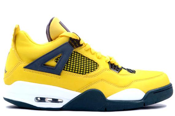 air jordan iv quotlightningquot march 2013 sneakernewscom