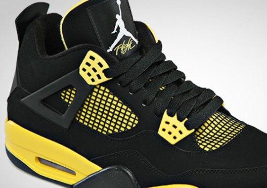 "Air Jordan IV ""Thunder"" – Official Images"