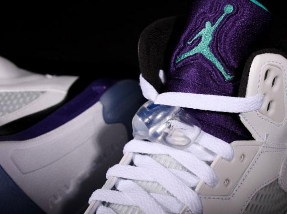 "f1498a2fa0f Air Jordan 5 ""Grape"" 2013 Retro - SneakerNews.com"